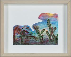 Southwest Series:  Paper Clip Cactus, 2007