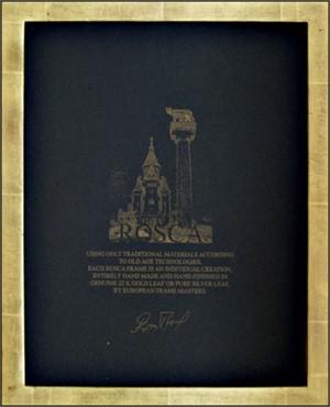 dafbebfc29e8 22K GOLD LEAF HANDMADE PHOTO FRAME 5X7 (Vertical -or- Horizontal)