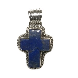 Pendant - Cross - Lapis, 2018