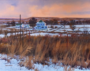 Prairie Evening Light by Hugh Greer