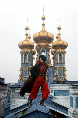 Leningrad: Gilded Domes of the Catherine Palace in nearby Pushkin (Edition 12/100)
