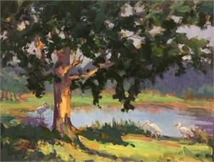 Payne Park Pond by Linda Richichi