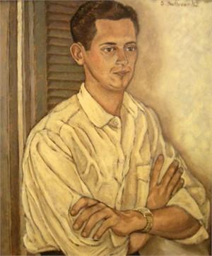 Portrait of David Moncrief, 1952