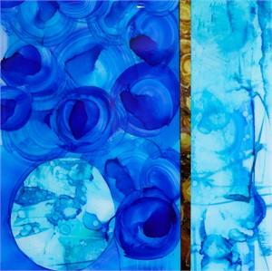 Twirling Blue, 2019