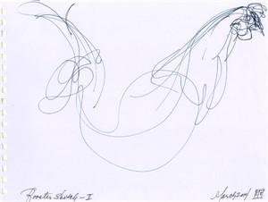 Rooster Sketch II, 3-2014