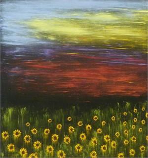 Sunflower Sunset I