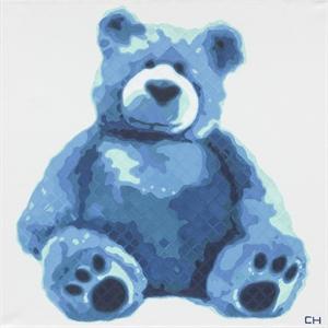 Teddy in Blue, 2019