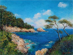 Point Lobos by James Scoppettone