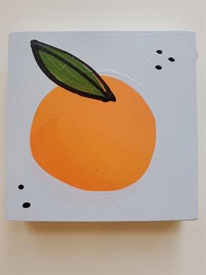 Small blue orange, 2020