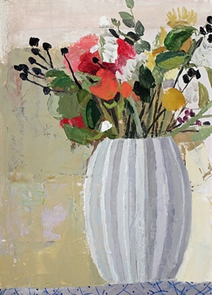 Still life with Flowers (2) by Sydney Licht