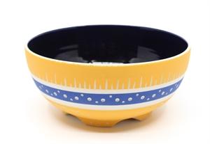 Tangerine & Blue Bowl
