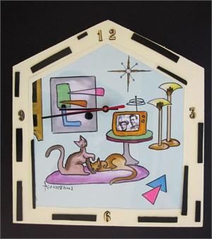 Modern Apartment Clock, 2018