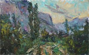 Southern Landscape (Sunrise in the Caucasus)