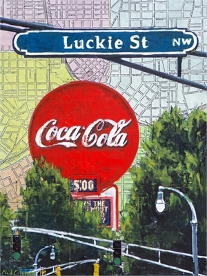Luckie Street by Plaid Columns