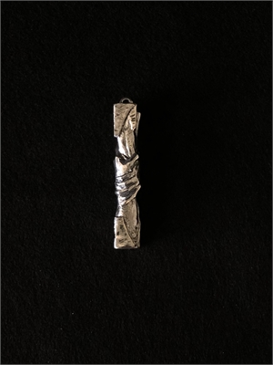 """Lapel Pin - """"Statue of Responsibility"""", 2020"""