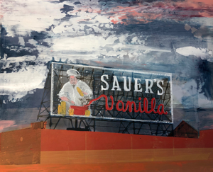 Sauer's Sign by Paula Wachsstock