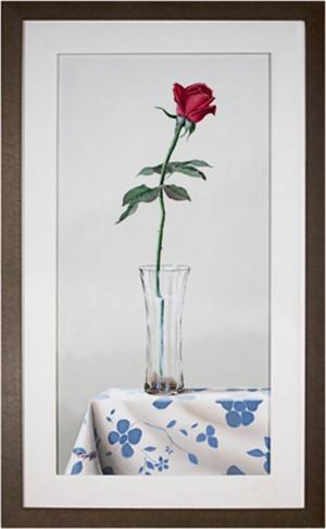 Rosa Ignea VI (Red Rose), 2004