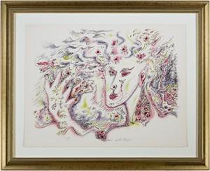 Satan from Je Reve (I Dream) Portfolio (H.C. XXV/XXV), 1975