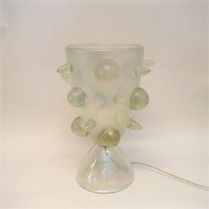 SEGUSO MURANO GLASS TABLE LAMP, Italian, circa 1960