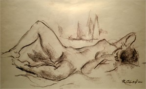 Reclining Nude (single figure)