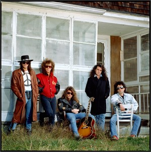88182 Bon Jovi Band on the Porch Color, 1988