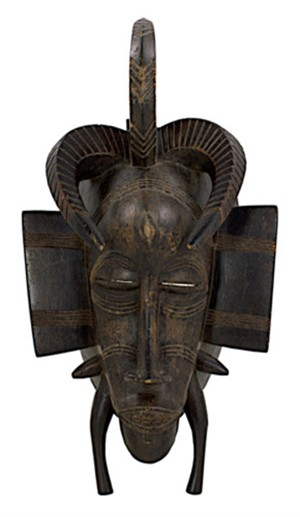 Senufo Dance Mask - Ivory Coast, c.1940