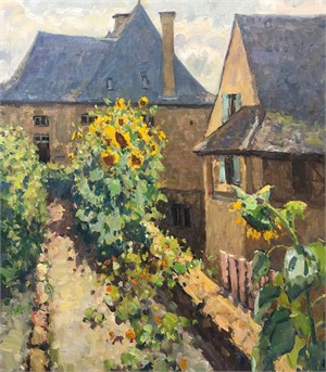 Sarlat Sunflowers