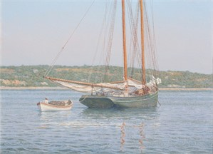 Mackerel Seiner, Nantucket Harbor 1906