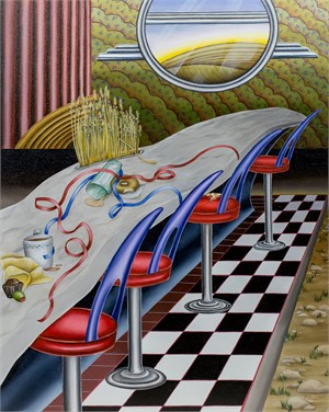Lunch Counter by Joyce Paul