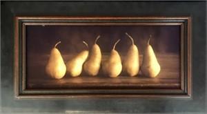 Six  Pears   (3/20), 2018