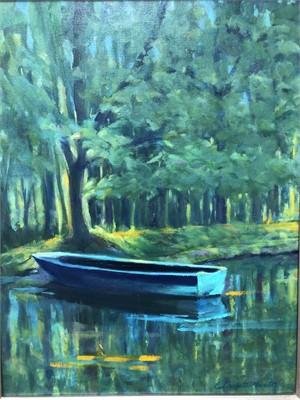 Monets Boat, 2019