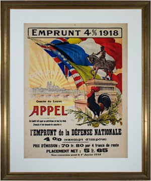 Emprunt 4% 1918-Appel, 1918