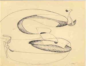 Organic Abstraction, c. 1938-40