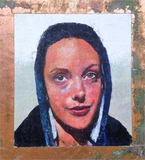 Portrait of Bonnie (Woman with Hoodie) by Mark Gaskin