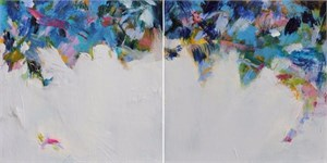 Blue Canopy (Diptych)