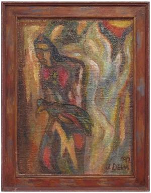 Jester with Bird, 1992