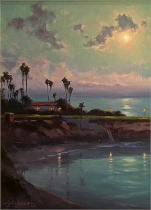 Moonlight Over La Jolla
