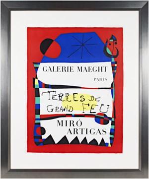 Terres de Grande Feu by Joan Miro