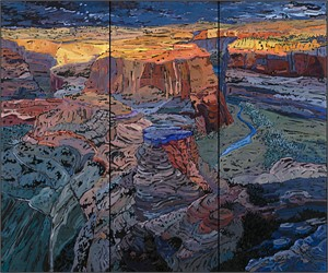 Falling into Grace (triptych)