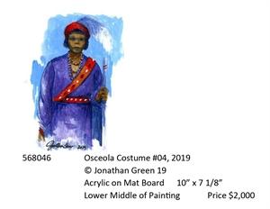 Osceola Costume #4, 2019