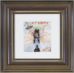 Famous Artist Series: Leonardo & Rodin Dreaming of Jona Lisa, 2007