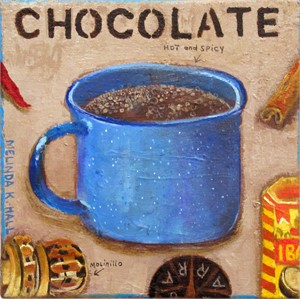 "Chocolate: Hot and Spicy, from ""Gimme Comfort-July 2019"""