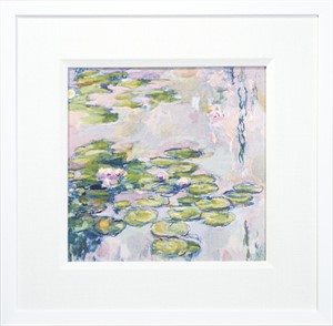 Giverny Water Lilies: Pink, 2015