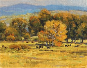 Cottonwoods & Cattle