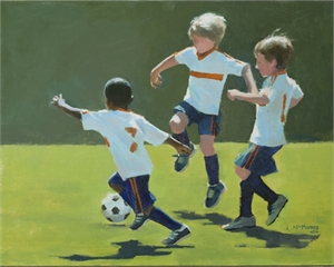 Soccer Dance by Lynda L McMorris
