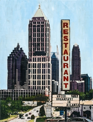Best Breakfast in Atlanta by Plaid Columns