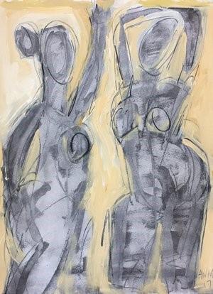 Figure Drawing #13, 2018