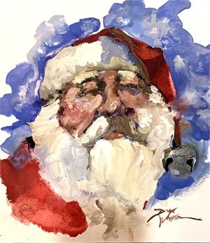 Santa's Silver Bell