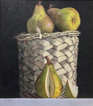 Sliced Pear, 1999