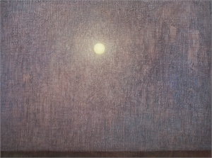 Night with Full Moon by David Grossmann